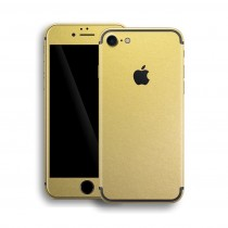 Apple iPhone 7 GOLD MATT Metallic Skin Guld