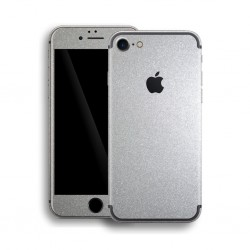 Apple iPhone 7 GLOSSY SILVER METALLIC Skin Sølv