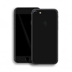 Apple iPhone 7 GLOSSY BLACK Skin Sort