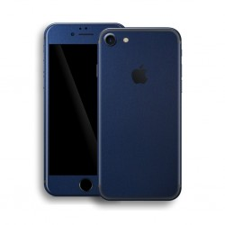 Apple iPhone 7 DEEP OCEAN BLUE Matt Skin Blå