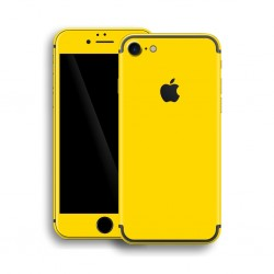Apple iPhone 7 GLOSSY Lemon Yellow Skin Gul