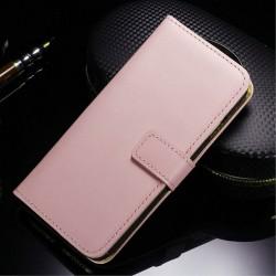Apple iPhone 7 Læder Pung Pink