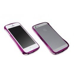 DRACO 5 ALUMINUM BUMPER til iPhone 5/5S - GALACTIK RØD
