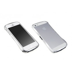 DRACO 5 ALUMINUM BUMPER til iPhone 5/5S - ASTRO SØLV