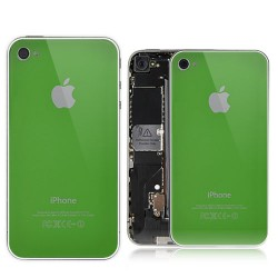 Aluminium And Plastic Combined Hard Bumper Case For iPhone 4S - Silver