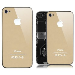 Eileen Brandy Lime Series Swarovski Rhinestone Case for iPhone 4 4S - Gold