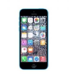 Udskiftning af iPhone 5C LCD Display inkl. Touch Skærm (Sort)