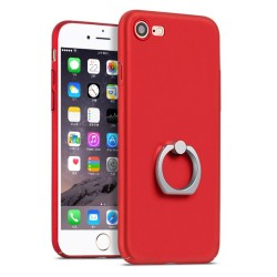 Apple iPhone 7 HOCO Shining Star Series Finger holder Cover Rød