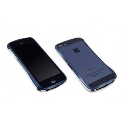 DRACO 5 ALUMINUM BUMPER til iPhone 5/5S - MIDNIGHT BLÅ