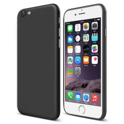 Apple iPhone 7 CAFELE 0.4mm Ultra-tynd Mat Plastik Cover Sort