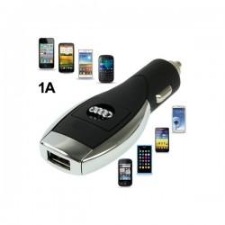 Audi Logo Multifunktion USB Bil Oplader til iPhone 5S & 5C & 5C / iPhone 4 & 4S  / iPhone 3G & 3GS