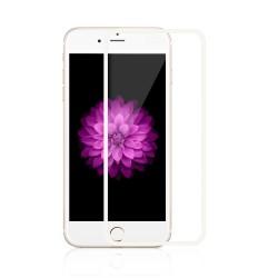iPhone 6 / 6S / 7 / 8 Beskyttelsesglas Full Coverage 0,3mm - Hvid