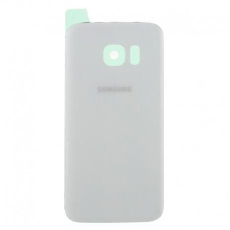 SAMSUNG Galaxy S7 Edge Bag Cover Reparation Hvid