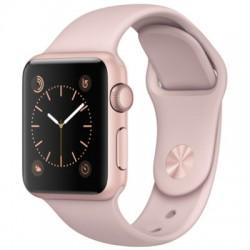 Apple Watch 38mm Rose Guld Aluminum Case med Lavender Sport Rem (Serie 1)