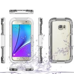 Samsung Galaxy S7 G930 Dustproof 10M Diving Vandtæt Hvid
