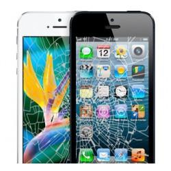 Udskiftning af iPhone 5 LCD Display inkl. Touch Skærm (Hvid)