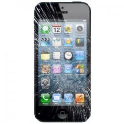 Udskiftning af iPhone 5 LCD Display inkl. Touch Skærm (Sort)