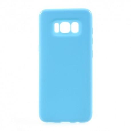Samsung Galaxy S8 SM-G950 Glossy Plastik Cover Blå
