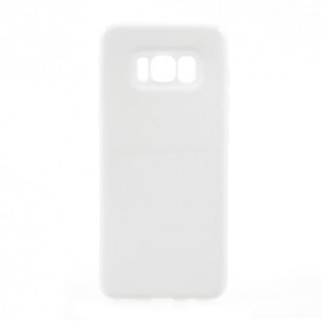 Samsung Galaxy S8 SM-G950 Glossy Plastik Cover Hvid