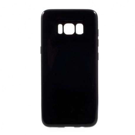 Samsung Galaxy S8 SM-G950 Glossy Plastik Cover Sort