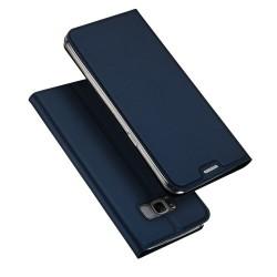 Samsung Galaxy S8+ G955 DUX DUCIS Læder Cover Mørkeblå