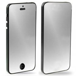 Høj kvalitet 2 i 1 (Front+Bag) Spejl LCD Skærmbeskyttelse til iPhone 5 (Japan Concept)