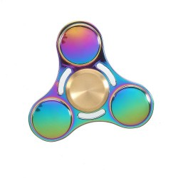 Finger Spinner UFO EDC Tilanium Regnbue