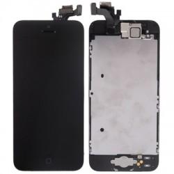 Original(OEM)iPhone 5 Touch Glas + LCD Skærm (8 i 1) - Sort