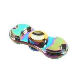 Finger Spinner UFO EDC Stainless Steel Regnbue
