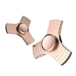 Finger Spinner Aluminium Guld