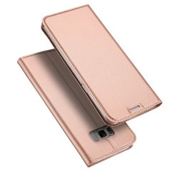Samsung Galaxy S8+ G955 DUX DUCIS Læder Cover Roseguld