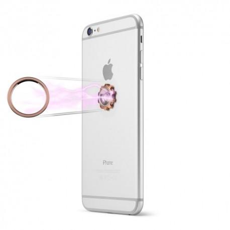 CASEME Magnetisk Mobilholder med Finger Spinner til iPhone, Samsung, m.fl. Roseguld