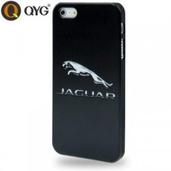 QYG Høj Kvalitet Plastik Cover med Jaguar Logo til iPhone 5/5S